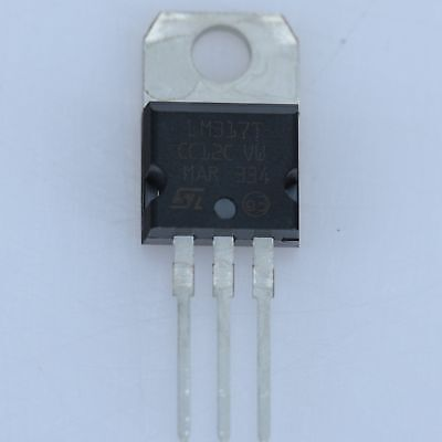 10pcs LM317  TO-220 1.5A Voltage Regulator IC  LM317T