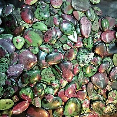 African Ruby Zoisite Natural AAA+ Premium Quality Wholesale Lot Gemstone Video