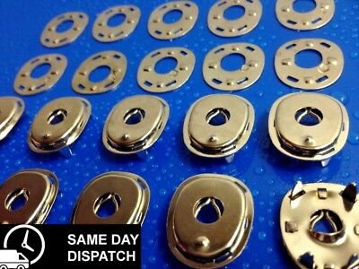 Lift The Dot Fasteners -Ute Tonneau- Vintage- Top & Plate-10 Pk-Canopy Free Post
