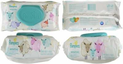 Pampers Sensitive Water Baby Wipes 1X Pop-Top Pack, 56 Count (Packaging May...
