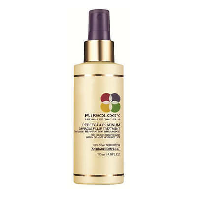 Pureology Perfect 4 Platinum Miracle Filler Treatment 145ml **Reduced!!**
