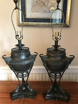 pair lamp of at candelstick tall maitland smith lamps candlestick