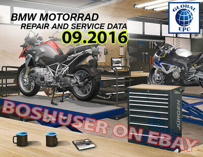 09/2016 Bmw Moto Rsd Repair Service Data Workshop Manuals Motorrad Diagnostics