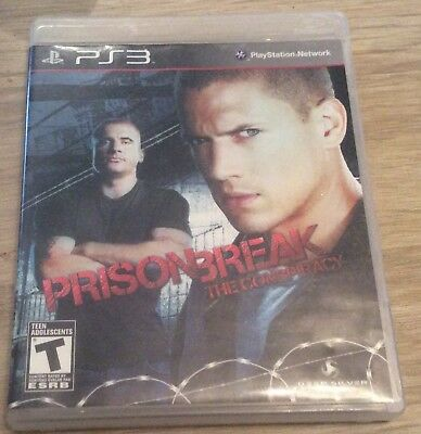 Prison Break: The Conspiracy (Sony PlayStation 3, 2010) Work perfectly like new