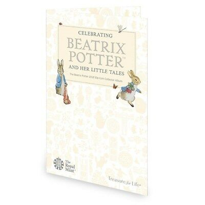 Royal Mint Beatrix Potter 2018 50p Coin Fifty Pence Collector Folder Album