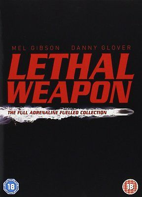 Lethal Weapon : The Complete Collection Box Set Brand New DVD 7321900170291