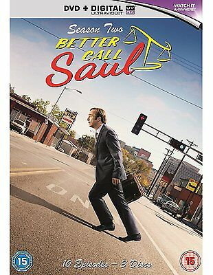 Better Call Saul - Season 2 [DVD] [2016] Brand New Bob Odenkirk 5035822608313