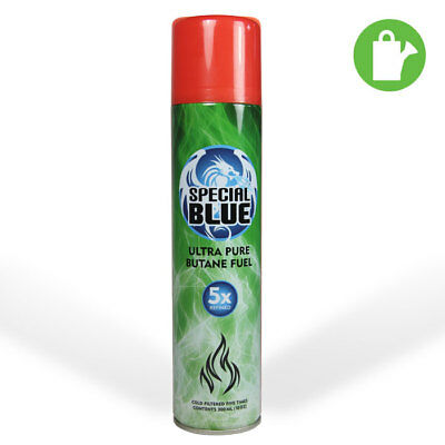 Special Blue 5x Filtered Ultra Pure Butane Fuel 300ml Lighter Refill - Odorless