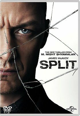 Split (DVD + Digital Download) [2017] Brand New Fast Post 5053083109516