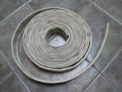 "30ft Roll of Retired Fire Hose 1 1/2"" 1.5""  2 1/2""  Reuse Recycle Upcycle!"