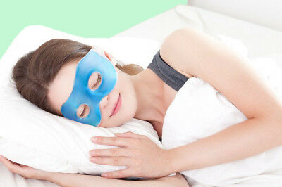 GEL EYE MASK Headache Relief Heat/Cold Pad Relax/Soothing Pad Migraine/Hangover