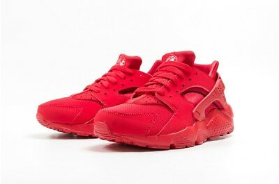 Nike Huarache Run Gs 654275-600 Grade School Red Boys Girls Womens Retro Og Nmd