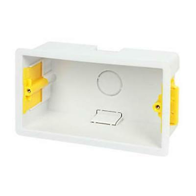 Dry Lining Boxes - 1/2 Gang - Flush Back Box - Plasterboard Cavity Wall