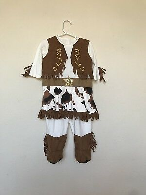 Cowgirl 18 Months Baby Girl outfit play costume booties Toddler Dress