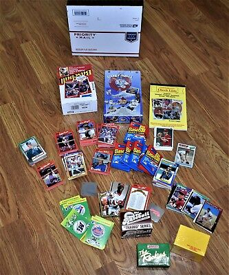 Huge 9 Pound Lot Of Unopened And Opened Baseball Card Packs! Lot #4