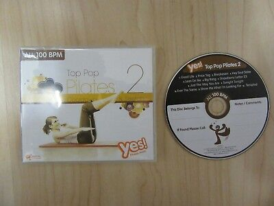 CD: TOP POP PILATES 2 von YES Fitness Music  Cooldown & Stretch 100 BPM.