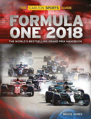 Formula One 2018 The Carlton Sports Guide Brand NEW 9781787390508