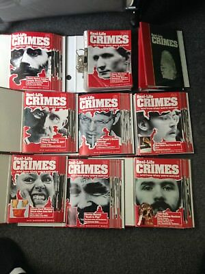 Real life crime magazines..complete set 1 to 135.