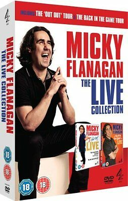 Micky Flanagan: Live Collection [DVD] Brand New 6867441046196