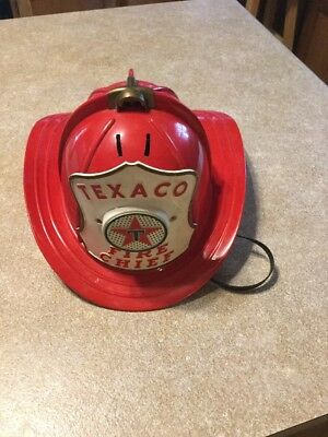 Texaco Fire Chief Fire Hat Vintage 1960-Ish