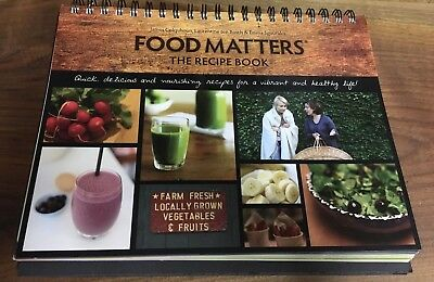 Food matters the recipe book barely used in excellent condition food matters the recipe book barely used in excellent condition forumfinder Images