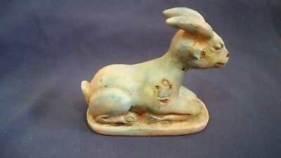 very rare and unique ancient egyptian antiques Deer statue