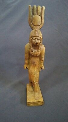 Ancient Egyptian Antique RARE Statue of Goddess Hathor