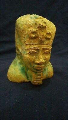 Head of ancient egyptian King from proclian