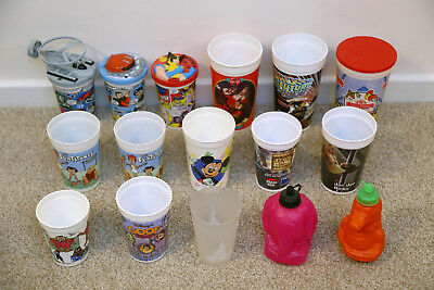 Cups From Disney Theme Parks Pizza Hut Etc Captain Scarlet