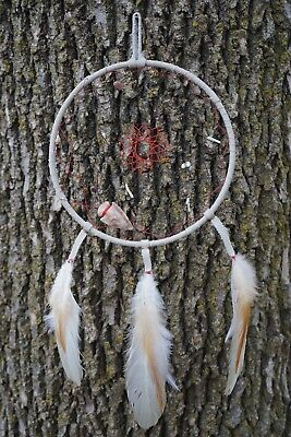 Native Dreamcatcher Handmade by Solaris - Genuine Leather