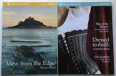 The National Trust Magazine Number 104 Spring 2005 & Number 106 Autumn 2005