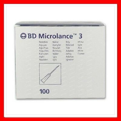 BD Microlance™ STERILE HYPODERMIC NEEDLES MEDICAL CYCLE INJECTION VARIOUS SIZES