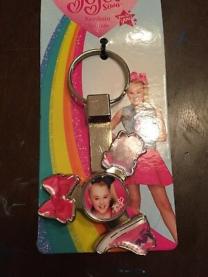 JOJO SIWA Fidget Spinner KeyChain NIP key chain backpack clip bow puppy shoe