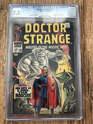 Doctor Strange #169 (Jun 1968, Marvel) CGC 7.5 With White Pages