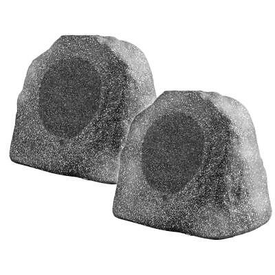 RX805 8-Inch 200W Outdoor Weather-Resistant Rock Speaker - OSD Audio (Pair,...