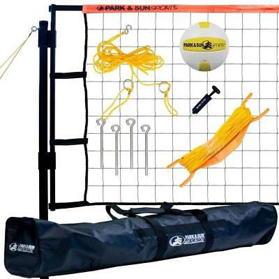 Park & Sun Sports Tournament Flex: Portable Outdoor Volleyball Net System