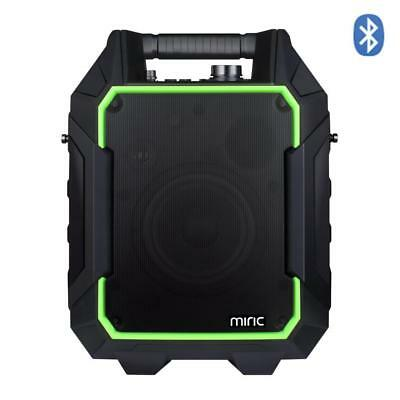 Miric Portable PA Speaker Bluetooth 60W, Outdoor 60 hours Playing Time with...