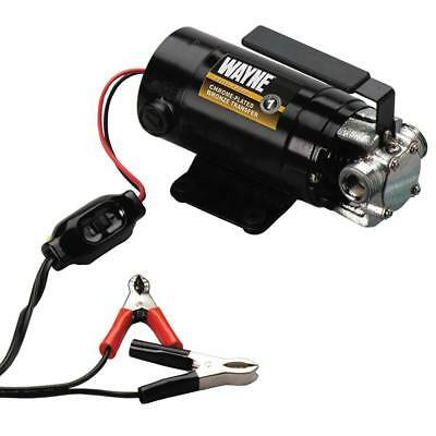 WAYNE PC1 Portable 12V Battery-Powered Water Transfer Pump With Suction Hose...
