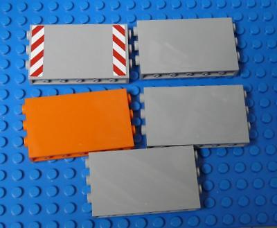 LEGO Panel 1 x 6 x 3 with Studs on Sides Assorted x5PC
