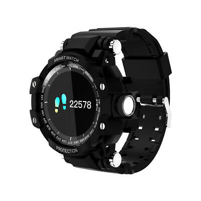 Men's Military Wristwatch Smart Watch Fitness Tracker Heart Rate Monitor GW68