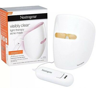 Neutrogena Visibly Clear Light Therapy Acne Mask & Activator 30 Day Treatment
