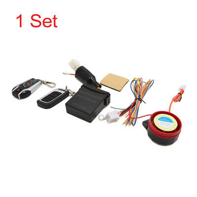 PKE Keyless 2-Way Motorcycle Scooter Anti-theft Alarm System Remote Control Kit