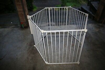 Good condition Convertible Child Safety Playpen Barrier - used