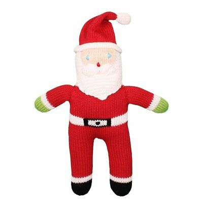 Zubels Santa Mr Claus 7-inch Hand-Knit Doll