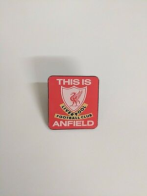 Liverpool Official 'This is Anfield' - Metal Pin Badge - Great Gift Idea