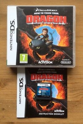 How to train your dragon ds nintendo ds 3ds game complete genuine how to train your dragon ds nintendo ds 3ds game complete genuine vgc ccuart Choice Image