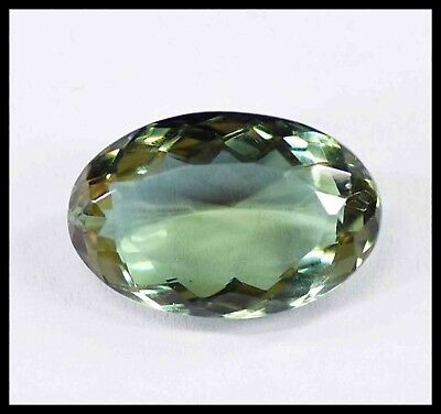 19.20Ct Certified Oval Cut Top Class Color Changing Alexandrite Gemstone AQ2115
