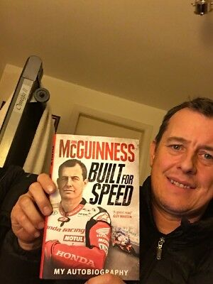 John Mcguinness`Built For Speed` Autobiography ***(personalised signed copy)***