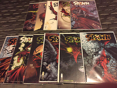 Spawn Comic Lot of 11 books, range from #80 to #103 in NM Condition!!