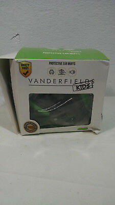 Vanderfield Baby Earmuffs Ear Muffs Green Ear Protector Noise Protection